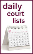 Link to the daily court lists